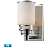 Bryant LED 5 inch Satin Nickel Bath Bar Wall Light in 1