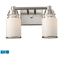 ELK Lighting Bryant 2 Light Bath Bar in Satin Nickel 11265/2-LED