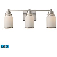 ELK Lighting Bryant 3 Light Bath Bar in Satin Nickel 11266/3-LED