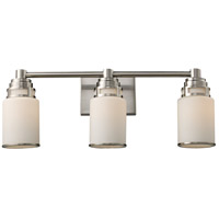 Bryant 3 Light 23 inch Satin Nickel Vanity Wall Light in Standard