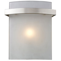 Briston 1 Light 7 inch Satin Nickel Vanity Light Wall Light
