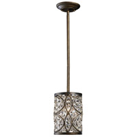 ELK Lighting Amherst 1 Light Pendant in Antique Bronze 11285/1