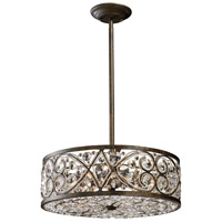 Amherst 6 Light 17 inch Antique Bronze Pendant Ceiling Light