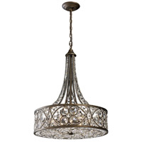 Amherst 6 Light 20 inch Antique Bronze Pendant Ceiling Light