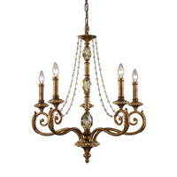 ELK Lighting Montavilla 5 Light Chandelier in Spanish Bronze 11294/5 photo thumbnail