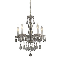 ELK Lighting Angelique 5 Light Chandelier in Silver Smoke 11312/5 photo thumbnail