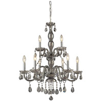 ELK Lighting Angelique 9 Light Chandelier in Silver Smoke 11313/6+3