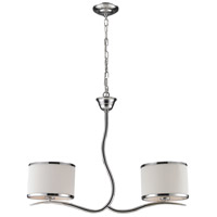 ELK 11353/2 Annika 2 Light 27 inch Polished Chrome Island Light Ceiling Light
