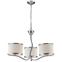Annika 3 Light 26 inch Polished Chrome Chandelier Ceiling Light