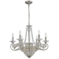 ELK Lighting La Flor 9 Light Chandelier in Sunset Silver 11366/6+3