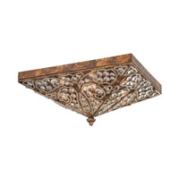 ELK Lighting Victoria 4 Light Flush Mount in Spanish Bronze 11370/4