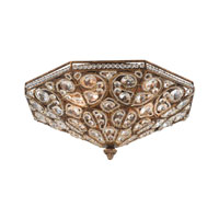 ELK Lighting Victoria 4 Light Flush Mount in Spanish Bronze 11371/4