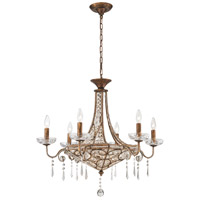 ELK Lighting Victoria 9 Light Chandelier in Spanish Bronze 11372/6+3
