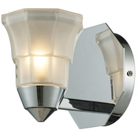 ELK Lighting Deco 1 Light Bath Bar in Polished Chrome 11390/1