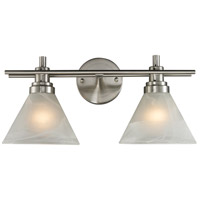 ELK Lighting Pemberton 2 Light Bath Bar in Brushed Nickel 11401/2
