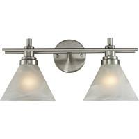 ELK Lighting Pemberton 2 Light Bath Bar in Brushed Nickel 11401/2