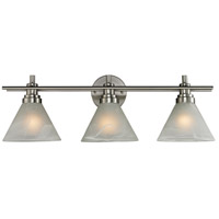 Pemberton 3 Light 26 inch Brushed Nickel Bath Bar Wall Light in Standard
