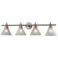 Pemberton 4 Light 36 inch Brushed Nickel Vanity Wall Light