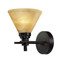 Pemberton 1 Light 7 inch Oiled Bronze Bath Bar Wall Light