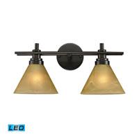 ELK Lighting Pemberton 2 Light Bath Bar in Oiled Bronze 11411/2-LED