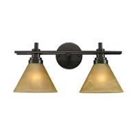 ELK Lighting Pemberton 2 Light Bath Bar in Oiled Bronze 11411/2