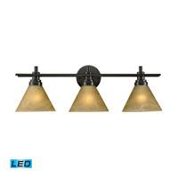 ELK Lighting Pemberton 3 Light Bath Bar in Oiled Bronze 11412/3-LED