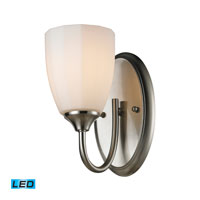 ELK Lighting Ridgeway 1 Light Bath Bar in Brushed Nickel 11420/1-LED