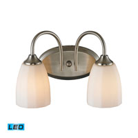 ELK Lighting Ridgeway 2 Light Bath Bar in Brushed Nickel 11421/2-LED