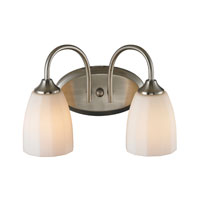 ELK Lighting Ridgeway 2 Light Bath Bar in Brushed Nickel 11421/2