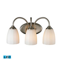 ELK Lighting Ridgeway 3 Light Bath Bar in Brushed Nickel 11422/3-LED