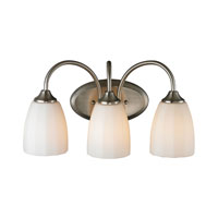 ELK Lighting Ridgeway 3 Light Bath Bar in Brushed Nickel 11422/3