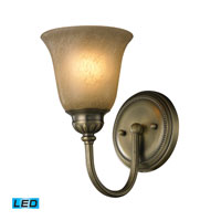 Ventura LED 6 inch Antique Brass Bath Bar Wall Light