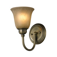 ELK 11423/1 Ventura 1 Light 6 inch Antique Brass Bath Bar Wall Light photo thumbnail
