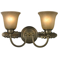 ELK 11424/2 Ventura 2 Light 18 inch Antique Brass Bath Bar Wall Light