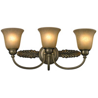 ELK Lighting Ventura 3 Light Bath Bar in Antique Brass 11425/3