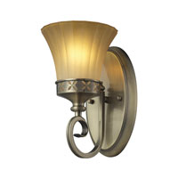 ELK 11426/1 Claremont 1 Light 6 inch Colonial Bronze Bath Bar Wall Light