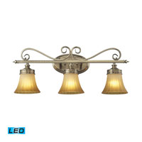 ELK Lighting Claremont 3 Light Bath Bar in Colonial Bronze 11428/3-LED