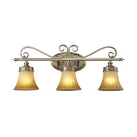 ELK Lighting Claremont 3 Light Bath Bar in Colonial Bronze 11428/3 photo thumbnail