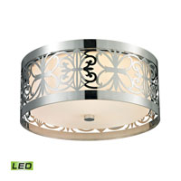 ELK Lighting Willow Bend LED Flush Mount in Polished Chrome 11429/3-LED