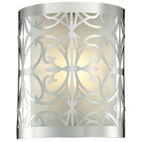 ELK 11430/1 Willow Bend 1 Light 8 inch Polished Chrome Bath Bar Wall Light photo thumbnail