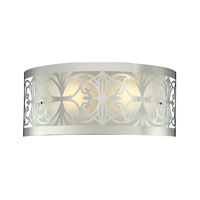 Willow Bend 2 Light 17 inch Polished Chrome Bath Bar Wall Light