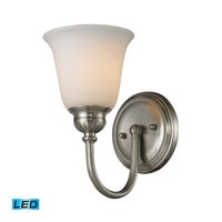 ELK Lighting Ventura 1 Light Bath Bar in Brushed Nickel 11433/1-LED