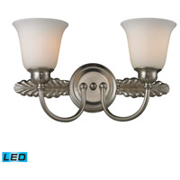 ELK Lighting Ventura 2 Light Bath Bar in Brushed Nickel 11434/2-LED