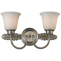 ELK 11434/2 Ventura 2 Light 18 inch Brushed Nickel Bath Bar Wall Light