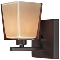 Serenity 1 Light 6 inch Oiled Bronze Vanity Light Wall Light