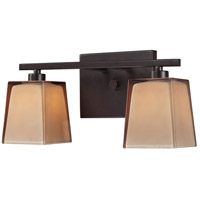Serenity 2 Light 13 inch Oiled Bronze Vanity Light Wall Light