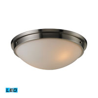 ELK Lighting Signature 2 Light Flush Mount in Brushed Nickel 11441/2-LED