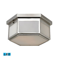ELK Lighting Signature 2 Light Flush Mount in Polished Chrome 11442/2-LED