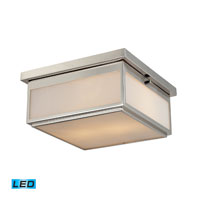 ELK Lighting Signature 2 Light Flush Mount in Polished Nickel 11444/2-LED