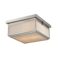 ELK Lighting Signature 2 Light Flush Mount in Polished Nickel 11444/2 photo thumbnail